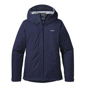 Patagonia Navy Torrentshell Rain Coat